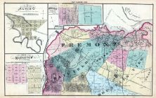 Map 001, Alviso, Mountain View, Mayfield, Santa Clara County 1876